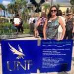 UNF Sculpture Park ribbon cutting