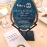Honored by Rotary