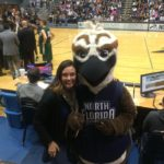 UNF Osprey basketball game